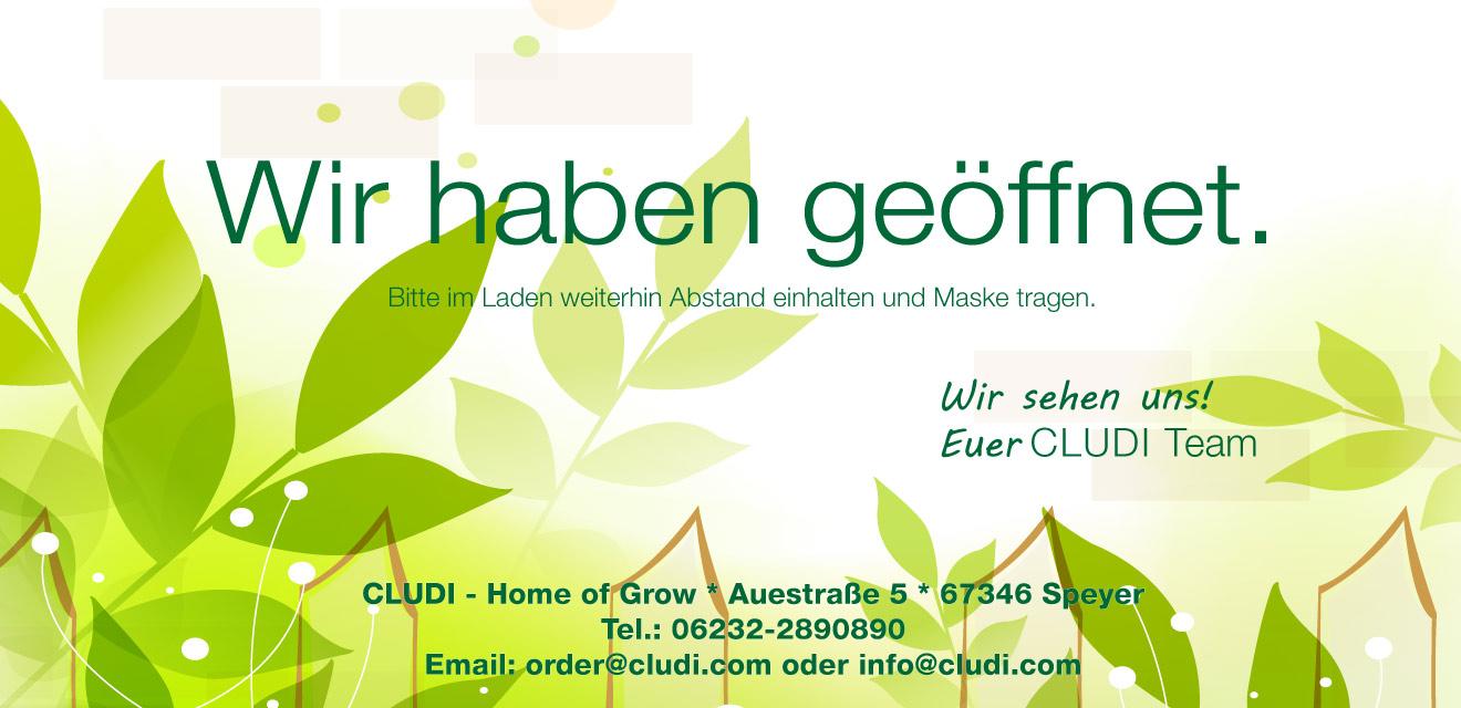 Cludi Speyer GROWSHOP Geoeffnet